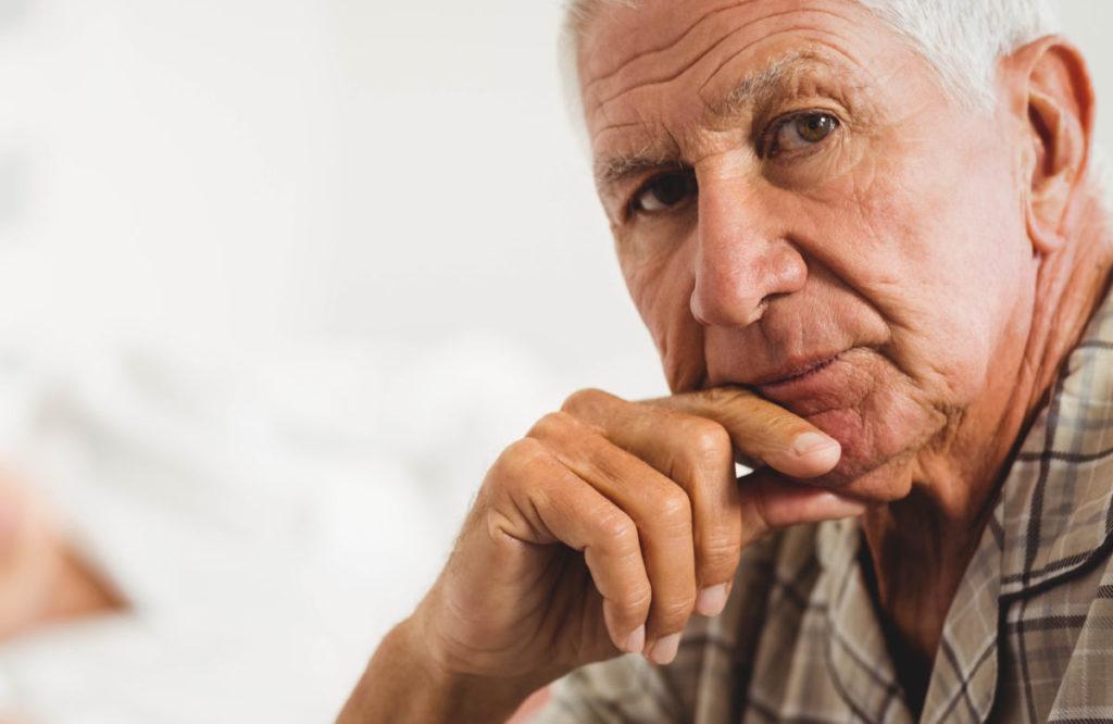 brown eyes old man