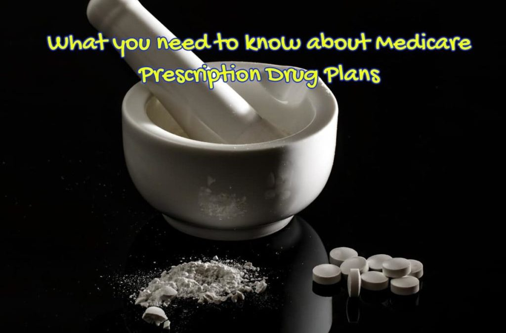 Image of old style mortar and pestle depicting What you need to know about Medicare Prescription Drug Plans