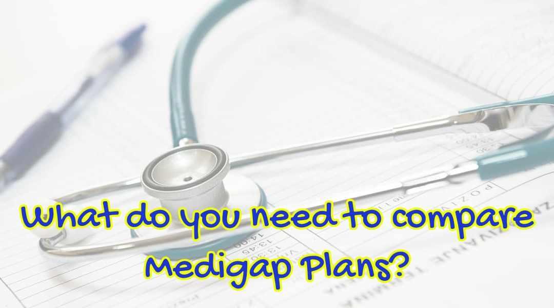 compare Medigap plans