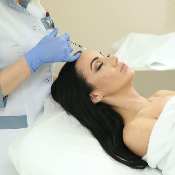 Инъекции ботулинотерапии