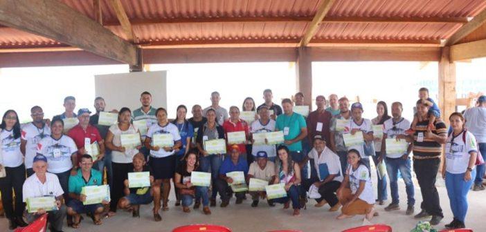 Durante a programação da EXPOCACAU os produtores de Medicilândia recebem capacitação através de palestras e oficinas