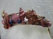 Third Mermaid Crown - Left Side close up