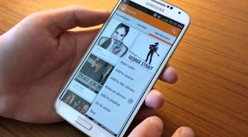 Google Play Music ya se encuentra disponible de manera gratuita como aplicación universal