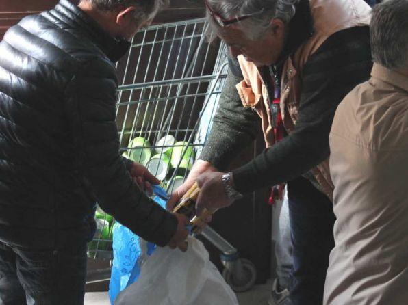 Dal 5 Dicembre 2020 riprende la distribuzioni dei pacchi viveri in Via Aspertini