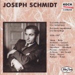 Recording of the Week: Joseph Schmidt – Live Recordings