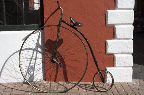 Antique bike