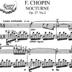 Chopin Nocturne Op 27 No 2