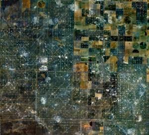 Oilfield surrounding Sundown - click to enlarge