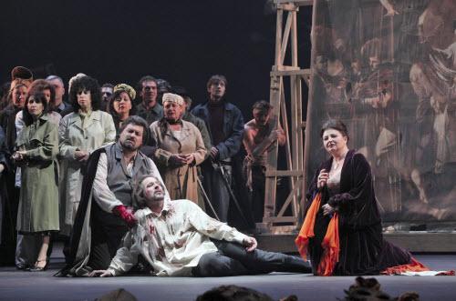 The opera's finale