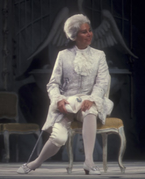 Christa Ludwig  b March 16, 1928 as Octavian