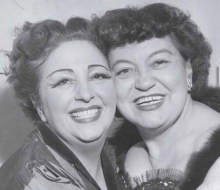Zinka Milanov and Rosa Ponselle