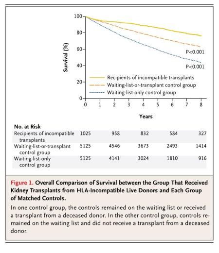Kidney trnsplant survival
