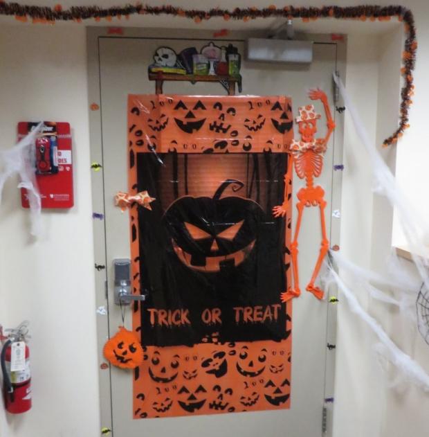2016 Halloween Door Decorating Contest