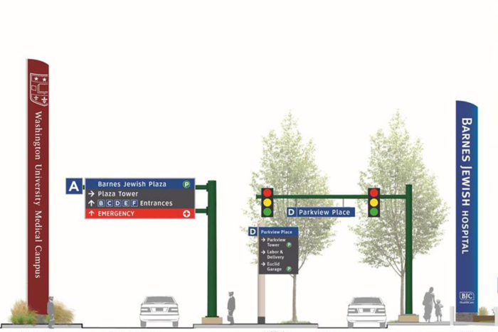 New signage system to simplify wayfinding on Medical