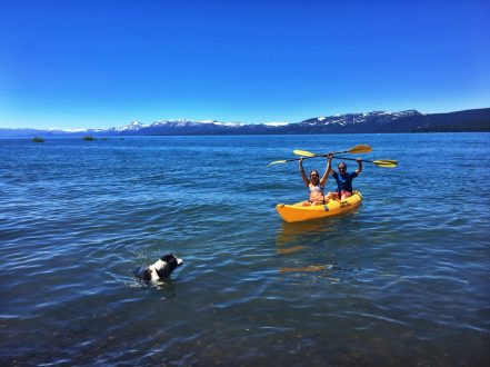 tahoe lifestyle kayaking