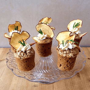 apple rosemary olive oil cake