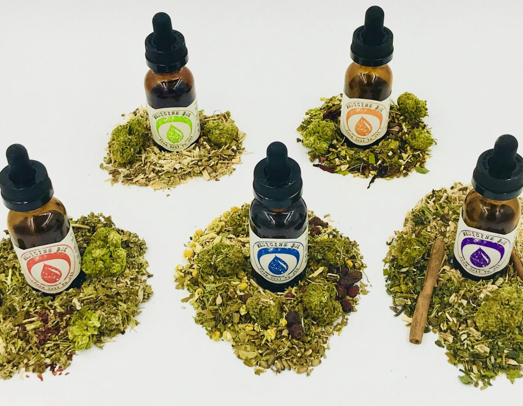 Medicine Box herbal tincture blends