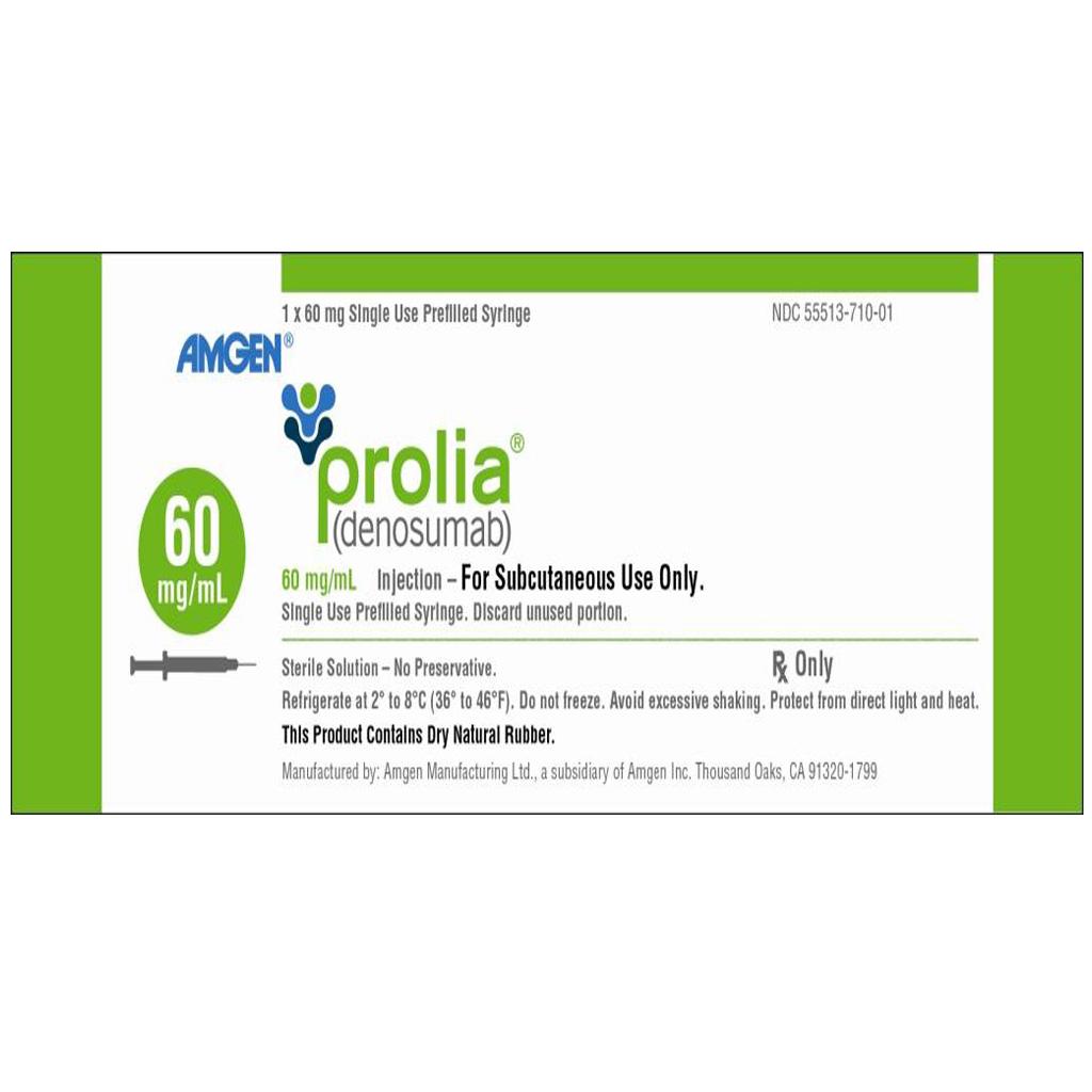 Common side effects of Prolia (Denosumab)