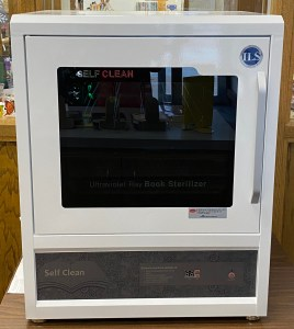 book sanitizer machine