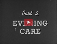 Title screen: Part 2 Evening Care.