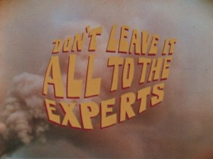 Don't leave it all to the experts