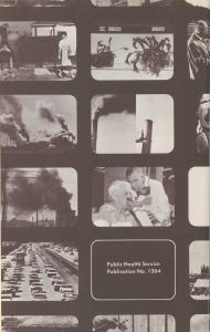 Back cover of a pamphlet advertising Public Health Service films for group showing.