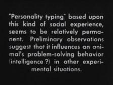 it influences an animal's problem-solving behavior
