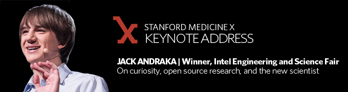 Jack Andraka to deliver opening keynote at Medicine X
