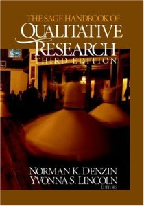 Photo of the Sage Handbook of Qualitative Research