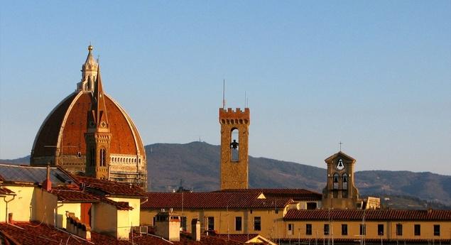 photo of Florence skyline