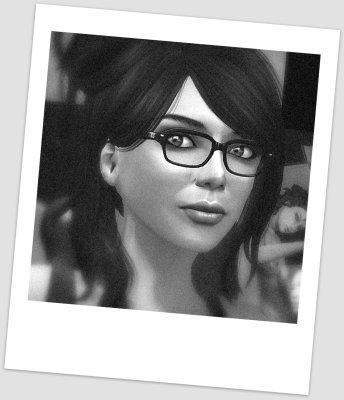 black and white headshot of Neeva Torok