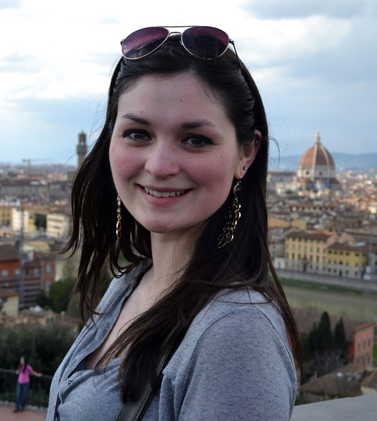 smiling in Florence
