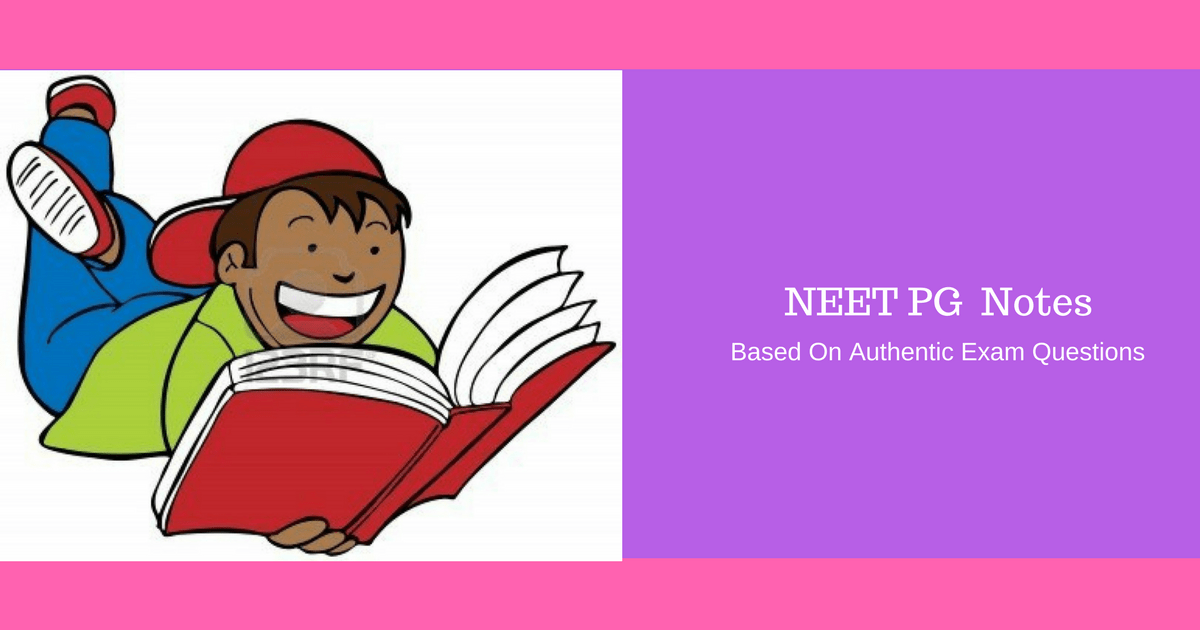 Best Rated Notes for NEET PG (All 20 Subjects Completed in