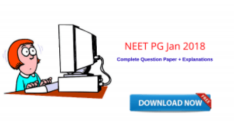 NEET PG 2018 Jan Paper PDF Version