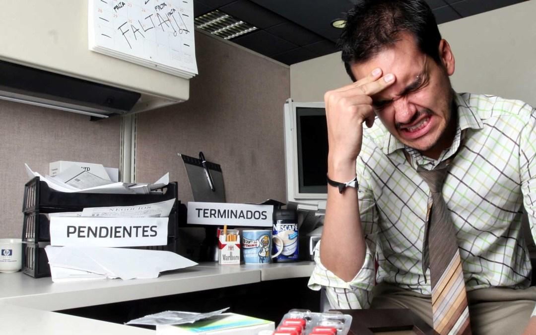 Las causas del estrés laboral