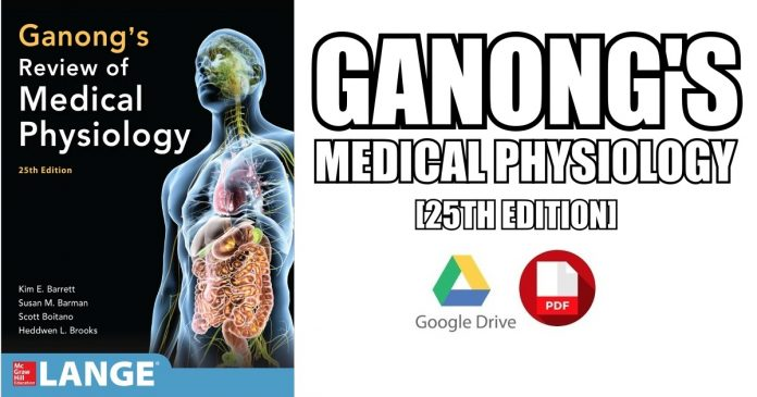 Ganong\'s Review of Medical Physiology 25th Edition PDF Free Download ...