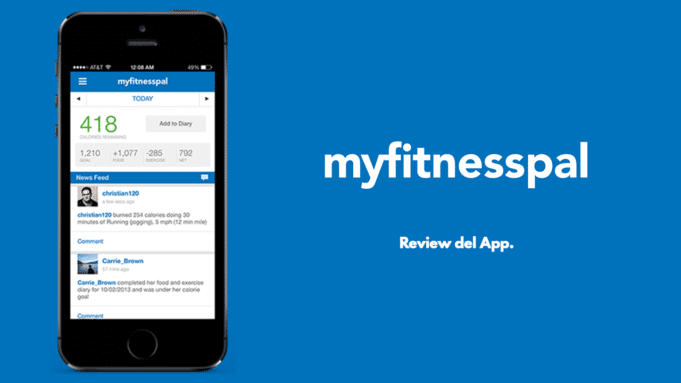MyFitnessPal app review