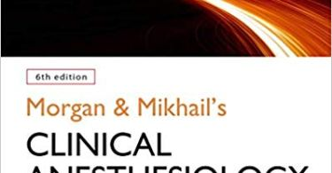 Morgan Clinical Anesthesiology pdf