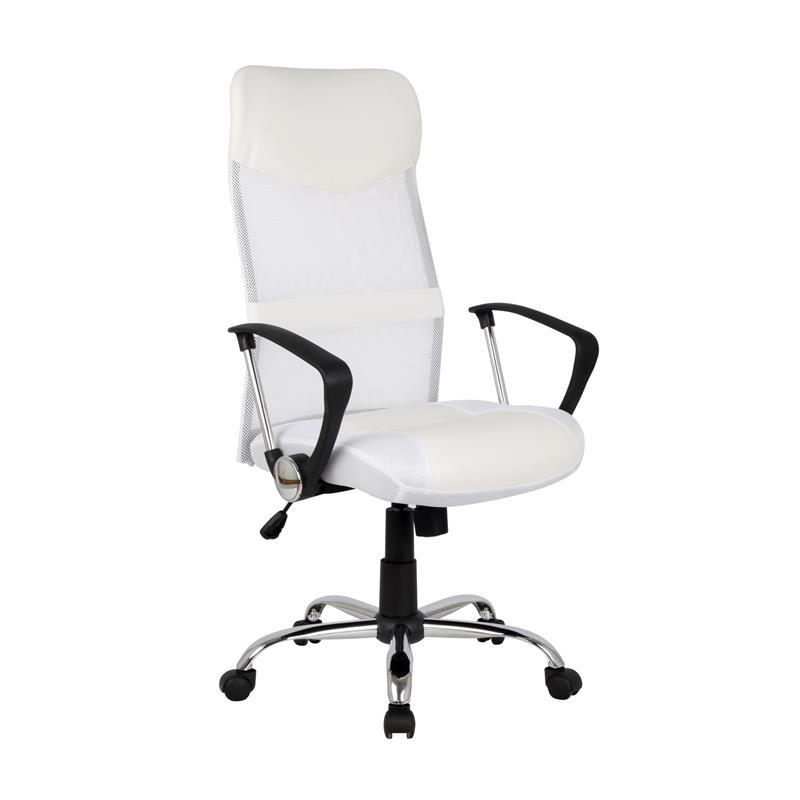 Design Poltrona sedia ufficio sedia girevole bianca H935