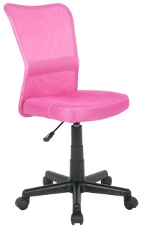 OFFICE SWIVEL CHAIR PINK - H-298F/1412 SIXBROS