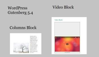 WordPress Gutenberg 5.4