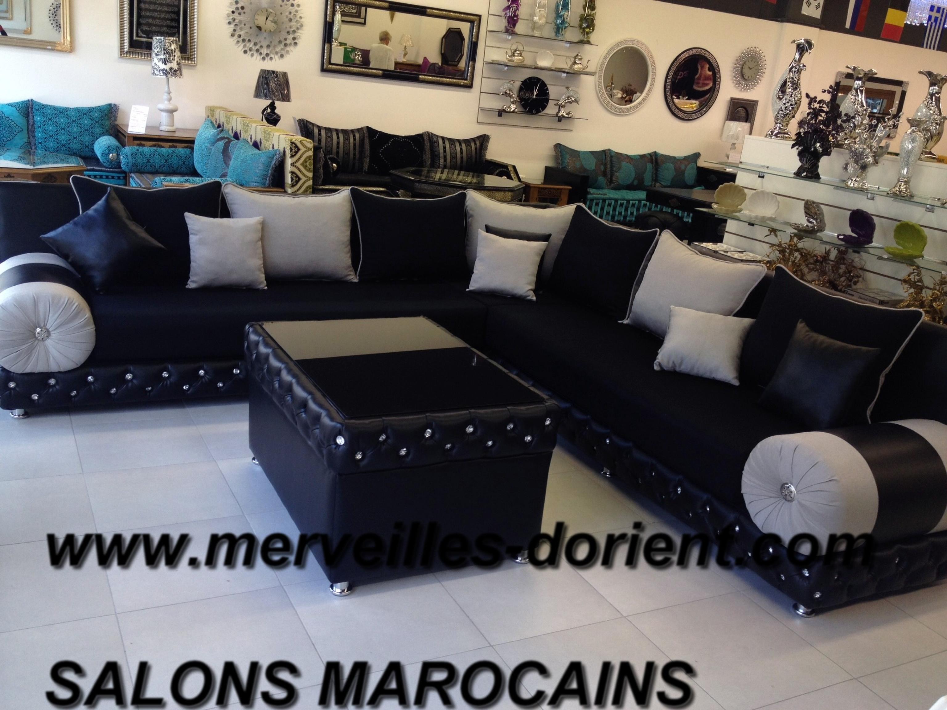 Salon Marocain Capitonné