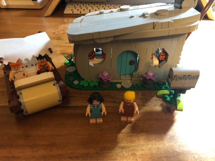LEGO IDEAS 21316 - The Flintstones - Familie Feuerstein