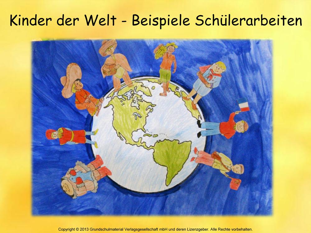 Kinder aus aller Welt - Weltkindertag - Medienwerkstatt