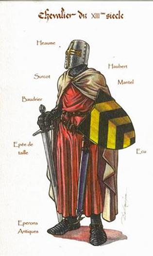 Les Valeurs D'un Chevalier Au Moyen Age : valeurs, chevalier, moyen, Chevalerie, Moyen, Www.medieval-boutik.com