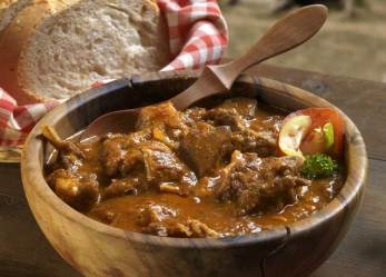 Beef Stew With Red Wine Honey Almonds Spices