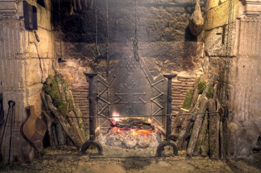 medieval kitchen fireplace castle food hearth open equipment times recipes cooking history stone antique cookery