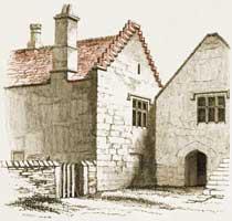 Medieval House: Exterior Interior Decoration