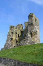 castle medieval scarborough times keep castles era being travellers brings thanks young during take citizendium visitors chance given