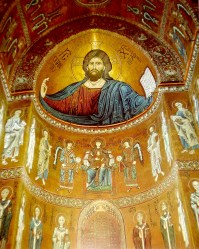 medieval culture artwork pieces influence early monumental monreale byzantine period church historian discusses europe era periods mosaics arte del during